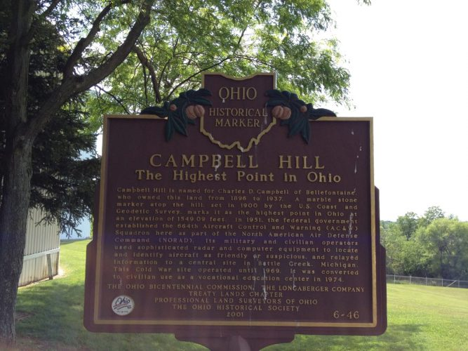 Campbell Hill, Ohio Highpoint