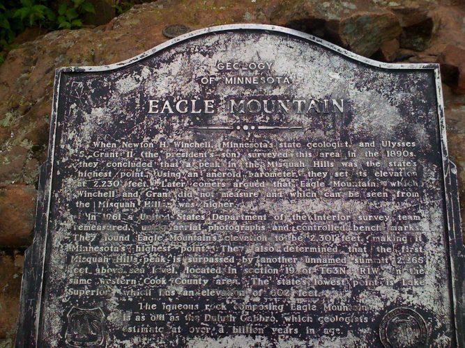 Eagle Mountain, Minnesota Highpoint