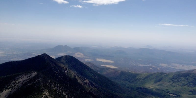 Humphreys Peak, June 2012