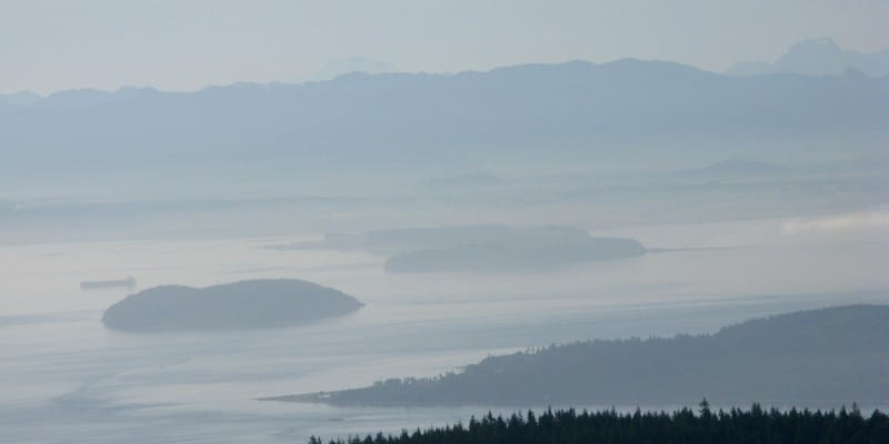 Mount Constitution, September 2009