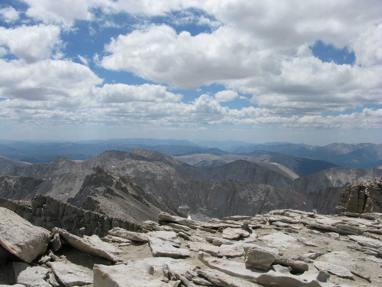 Mount Whitney, August 2010