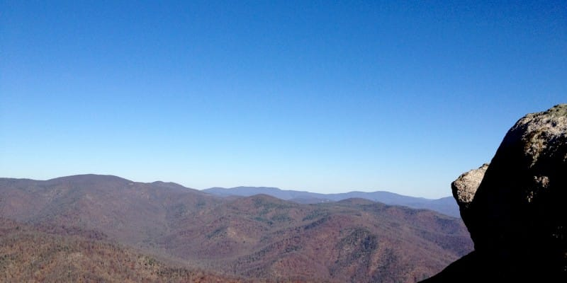 Old Rag Mountain, November 2013