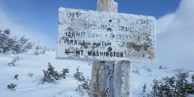 Lion Head Winter Route, Mount Washington