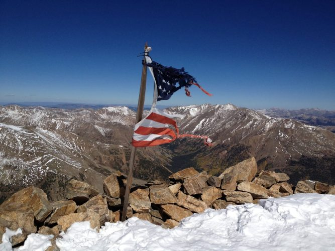 Mount Elbert, September 2013