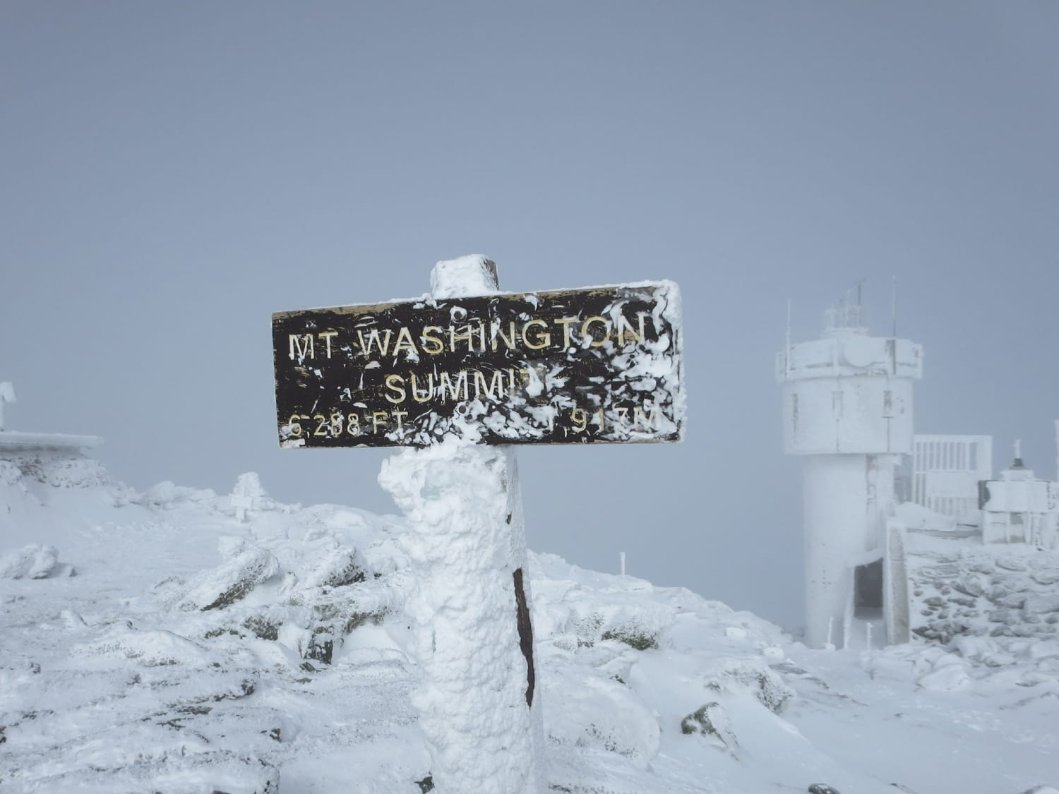 Mount Washington, February 2014