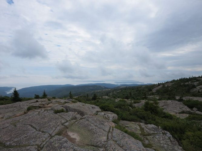Cadillac Mountain, Maine, Acadia