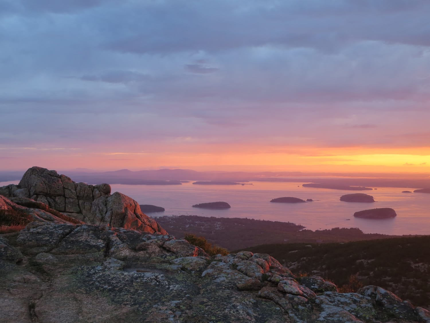cadillac mountain maine acadia sunrise. Cars Review. Best American Auto & Cars Review