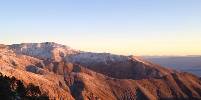 Telescope Peak, California, Sunrise
