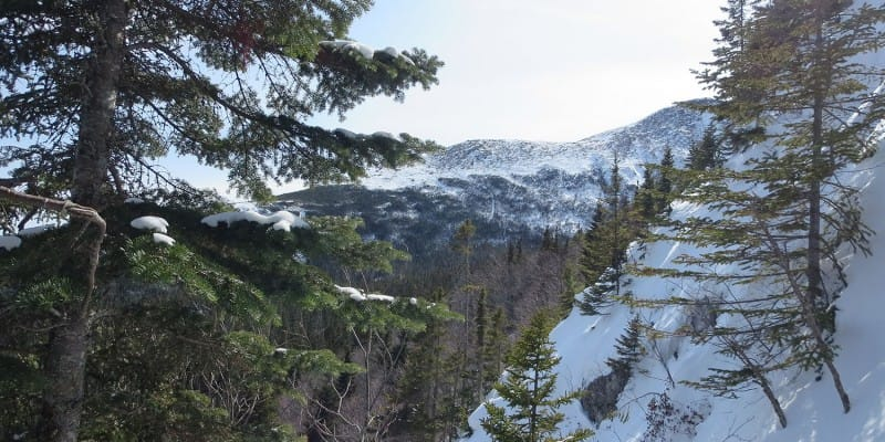 Mount Washington Lion Head winter route