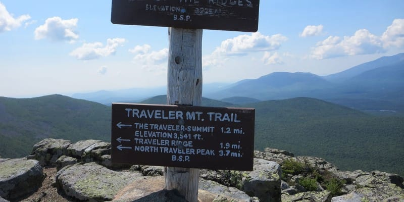Traveler Mountain Loop Hike, Baxter State Park, Maine